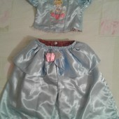 Продам двухсторонний комплект Золушка девочке 3-4года, рост до 104.Disney.