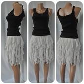 Оригинальная многослойная юбка Lipsy London. Размер М,наш 44-46).