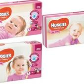 Подгузники Huggies Ultra Comfort для девочек все размеры