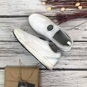 Фирменные мужские кроссовки-слиперы Puma с текстильным верхом  SH4997