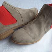 Ботинки s.Oliver оригинал 39-40-длина стельки 25,5 см