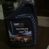 новое масло для двигателя.