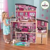Кукольный домик для Barbie KidKraft Sparkle Mansion
