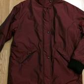 Фирменная теплая куртка унисекс Gore Tex(USA),курточка на две стороны+подарок шарф
