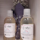 Шампунь для волос & гель для душа 2 в 1 серии «Детская» White Mandarin