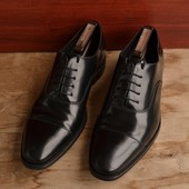 -Loake Smith Oxford -made in England  -ручная работа -технология Goodyear Welted -размер английский