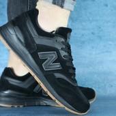Кроссовки NewBalance 997 Black, р 41-45, код gavk-00-00001514
