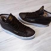 Утепленные кеды Adidas 23-23,5 см Кожа