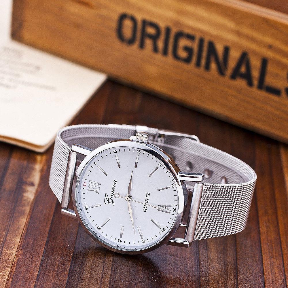 Новинка! часы geneva с покрытием под серебро фото №1