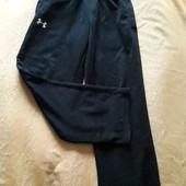 Утеплённые спортивные штаны фирменные Under Armour р.46