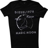 Мужская футболка черная Diesel M