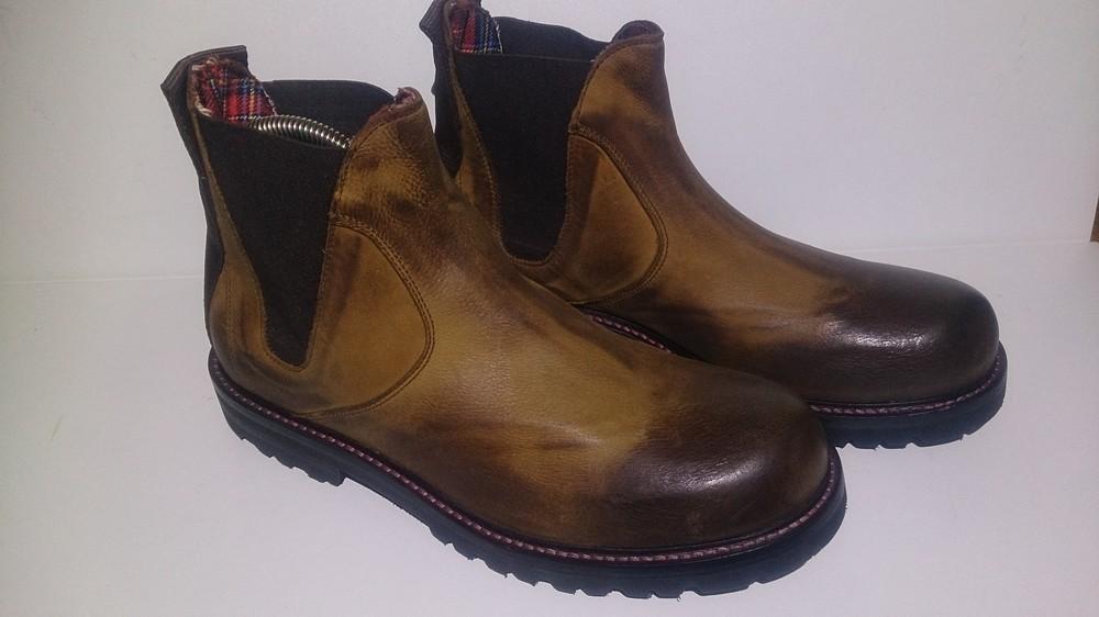 Ботинки мужские, кожанные, демисезонные Pittarello (Италия) фото №1