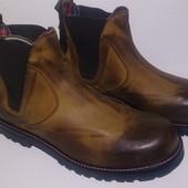 Ботинки мужские, кожанные, демисезонные Pittarello (Италия)