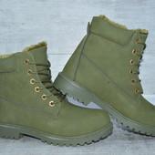 Зимние женские ботинки, недорого