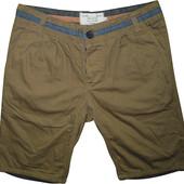 Мужские шорты бриджи коричневые Bellfield 32-30