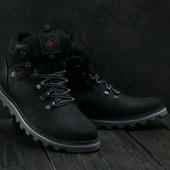 Мужские зимние ботинки Сalumbia black T3W-M11