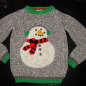 Оч.крутой свитер mini B 4-5 лет отл.состояние