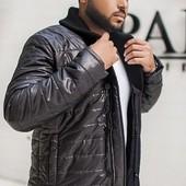 Размеры 48-54 Стильная мужская куртка, пять цветов