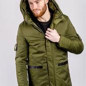 Куртка удлиненная зимняя 743K001