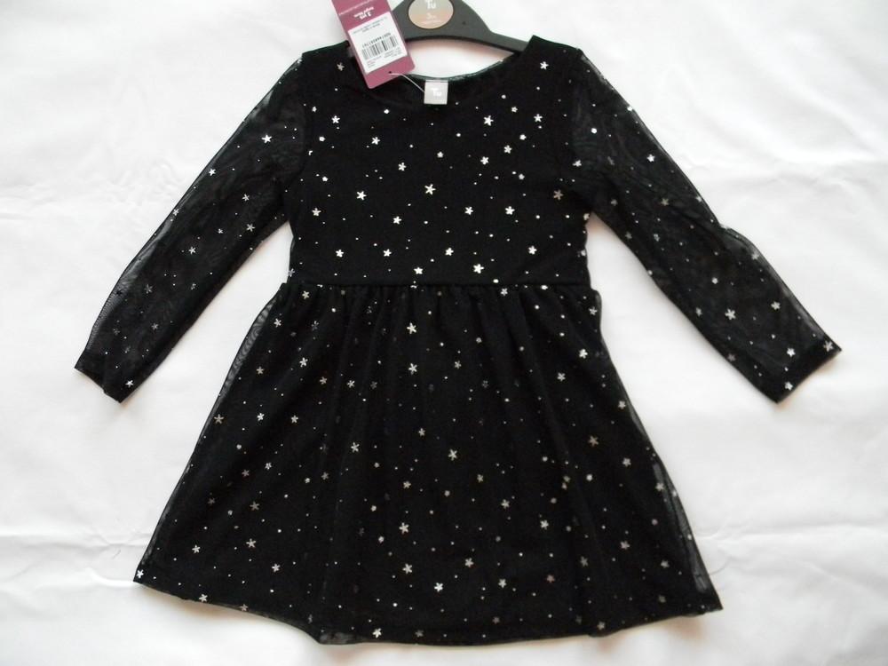 Нарядное  платье tu  на 2-5 лет. фото №1