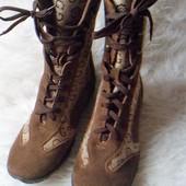 отличные комфортные ботинки 37