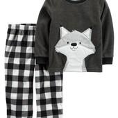 Флисовая пижама Carters для мальчика 2Т, 3Т, 4Т, 5Т