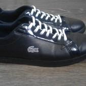 Кожаные туфли (кроссовки)  Lactoste р.37.5 оригинал