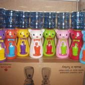 Детский кулер для воды Фунтик, диспенсер для воды кошечка Kitty, Мишка и Утенок
