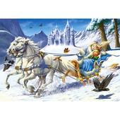 Пазлы Castorland 120 дет Снежная королева