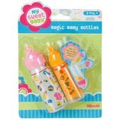 Toysmith my sweet baby magic baby bottles Волшебные бутылочки для пупса с молоком и соком