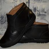 кожаные ботинки 26 см