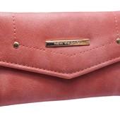 Компактный женский кошелек 2 цвета