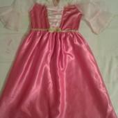 Продам нарядное платье Аврора девочке рост до 122,5-7лет.Disney.