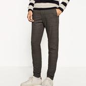 """Мужские теплые брюки ( 100 % шерсть) Бренд """"Zara man"""""""