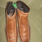 сапоги-ботинки кожаные 31 см. Borelli. Италия