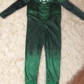 Костюм карнавальный Зеленый Фонарь размер XL, отл. сост