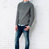 Стильные мужские плотные джинсы Springfield, 38р, высокий рост, Испания