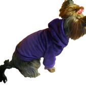 Толстовка-свитер для собак из мягкого плюша Dogs bomba Y-43