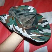 Стильная фирменная панама шляпа милитари Forstman.56-58
