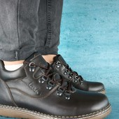 Ботинки Clarks, на меху, р. 40-45, код gavk-10533
