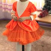 Костюм лисички карнавальный наряд лисы лисичка