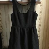 Naf naf платье с карманами р-р 14 42 xl Франция