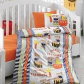 Детское постельное белье Cotton Box Hazine orange, реальн.фото