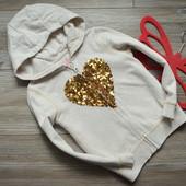 Кенгурушка, кофта с сердцем TU (3-4 года)