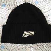 Вязаная шапка Puma(оригинал).Мега выбор обуви и одежды