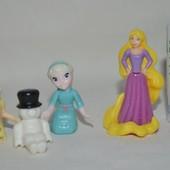 Разные фирменные фигурки Принцессы Дисней