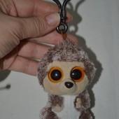 TY Глазастик симпатяга мягкая плюшевая игрушка брелок ёжик ёж