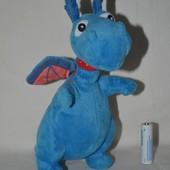 мягкая плюшевая игрушка средний дракоша дракон стаффи озвучен доктор плюшева Doc McStuffins Doc Doll
