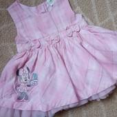 Очаровательное милое платье сарафан с Минни Маус Disney