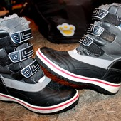 Ботинки зима на мальчика 35 р